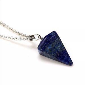 5/$25 💙 Lapis Lazuli Pendulum Necklace